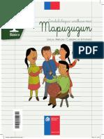 Cuaderno de Actividades 1ro Basico Lengua Mapuzugun