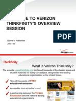 VerizonThinkfinityOverview