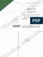 Derecho Registral Cornejo