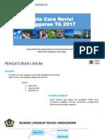 Tata Cara Revisi Tahun 2017 PMK 10 2017