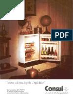 70s - Refrigerador Consul J-¦únior Trailer