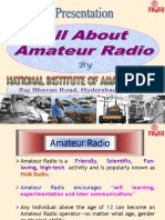 About Amateur Radio