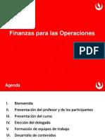 Finanzas para las operaciones