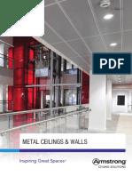 Uk Metal Ceilings Walls Brochure