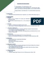 Bibliografía Por Especialidades Odontologia