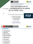 Modelación hidrológica - Puno -SENAMHI