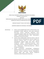 PMK No. 42 Ttg Pengangkatan PNS Dalam JABFUNG Kesehatan Melalui Inpassing