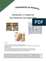 Spanish Food Storage Safety Text