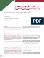 Complicaciones de La Colocación de CVC.