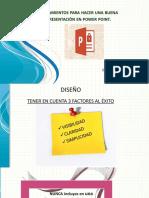 Lineamientos Para Hacer Una Buena Presentacion en PP