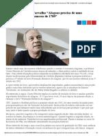 """Cícero Péricles de Carvalho """"Alagoas Precisa de Uma Revolução Como a Francesa de 1789"""" _ Edição 839 - Jornal Extra de Alagoas"""