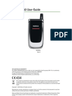 Nokia 6060 User Guide (English)