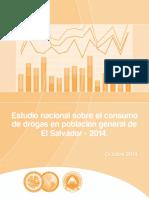 Estudio Nacional Sobre Consumo de Drogas en El Salvador