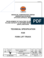 Job Specific a i on for Forklift