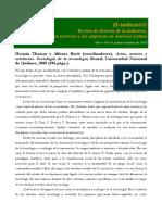 Actos Actores y Artefactos Revista