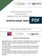 MONTESSORI Espacios Educativos,  Lugaridad y  Ambientes de Aprendizaje   - copia - copia.pptx