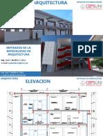 METRADOS DE LA ESPECIALIDAD DE ARQUITECTURA - UNI