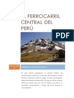 1.1. El Ferrocarril Central Del Perú