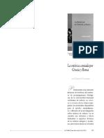 La retorica en Grecia y Roma - Laurent Pernot