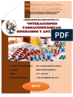 laboratorio FARMACOLOGIA 2
