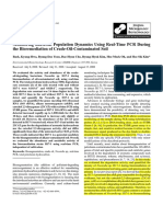 Monitoring Bacterial Population Dynamics Using Real-Time PCR Duringthe Bioremediation of Crude-Oil-Contaminated Soil