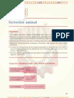 SECRECIÓN ANIMAL