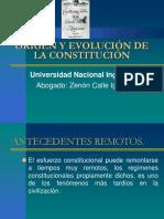 i. Origen y La Evolucion de La Constitucion
