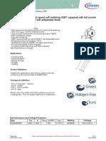 Infineon Ikz50n65es5 Ds v02 01 En