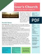 st saviours newsletter - 1 oct 2017