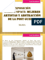 Making Space, Mujeres Artistas y Abstracción de La Postguerra