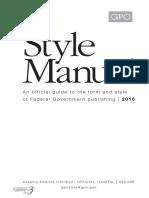 Gpo Stylemanual 2016