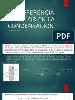 Transferencia de Calor en La Condensacion