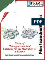 Wijayati Et Al 2012 Study of Homogeneous Acid Catalysis for the Hydration Alpha Pinene