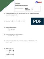 Examen de Subsanacion 1ero