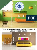 Historia Diseño de Interiores