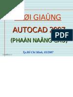 AUTOCAD 2007-Nang Cao