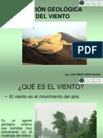 Ación Geológica Viento