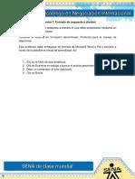 Evidencia 7 ACT 15 Formato de Respuesta a Clientes