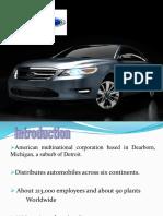 25252835 Ford Strategic Analysis