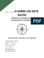 Amado Saint Germain - Comunicacion Cosmica - Estudio Sobre Los Siete Rayos