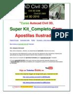 Autocad Civil 3D | Tutoriais AutoCAD Civil _ Kit Autocad Civl _ FRETE GRÁTIS! Aproveite!!!