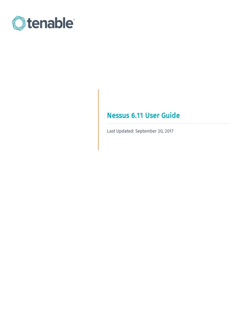Nessus 6 User Guide Linux Vulnerability Computing