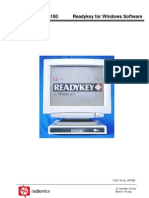 Ready Key Pro Soft Ware Users Guide