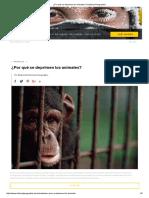 ¿Por Qué Se Deprimen Los Animales_ _ National Geographic Quimica o Psiquismo