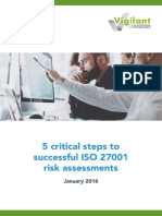 5 Critical Steps to Successful Risk Assessments