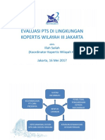 Evaluasi Kopertis Wilayah III