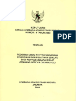 Pedoman Umum Toc