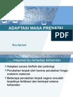 Adaptasi Biofisik Dan Psikologis Prenatal (Kehamilan)