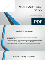 Text Media and Information (Lec)