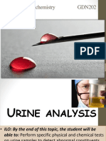 Lab 3 Chemical Examination of Urine Dentiser Marwa